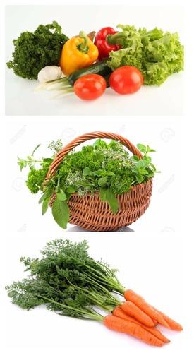 свежие овощи зелень